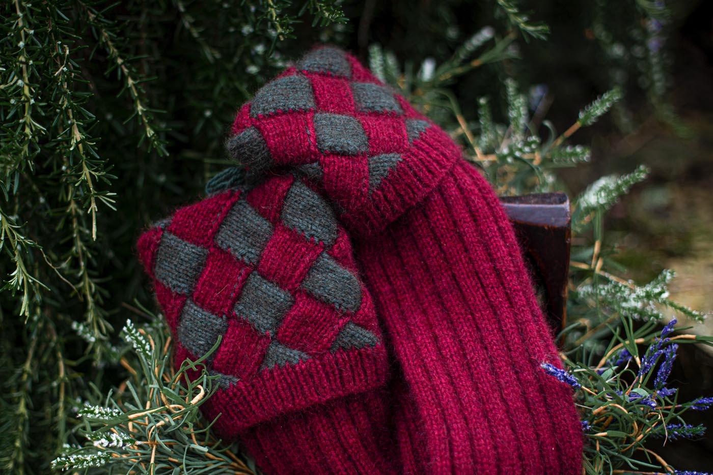 Possum-merino-stocking